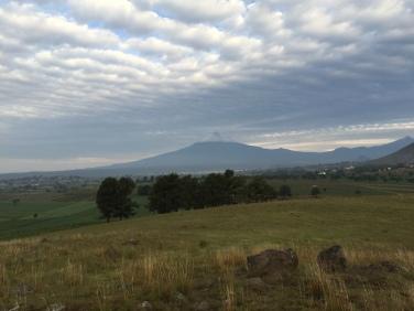 "Popocatépetl (""Smoking Mountain"" in English)"