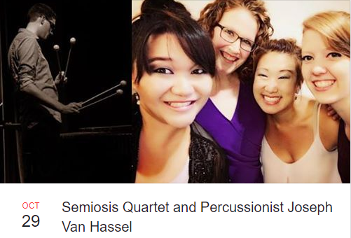 1. Semiosis String Quartet - the clock is ticking BNMF